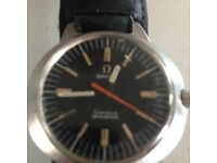 1960s Omega dynamic geneve stainless steel watch with original strap
