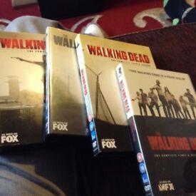 The walking dead s1-5 DVD boxsets