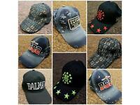 Hats/belts/trainers