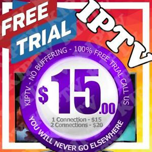 IPTV - PREMIUM SERVER - NO BUFFERING     >>>FREE TRIAL<<<    KIPTV IS THE NUMBER 1 SERVICE
