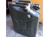 Ex Army Petrol Can