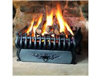 STOVAX CAST IRON LARGE SPANISH FIRE BASKET