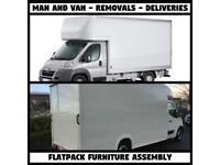 From £30/HR LONDON MAN AND VAN BROMLEY CHISTLEHURST CROYDON BEXLEY DARTFORD HAYES LUTON TAIL LIFT