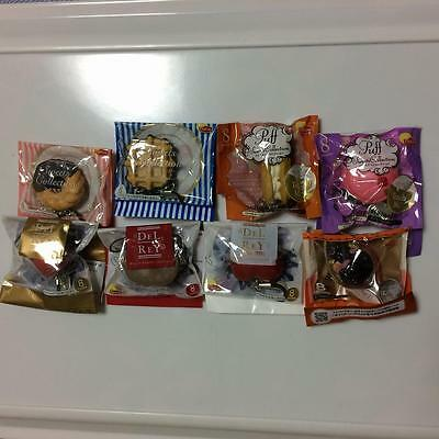 Sweets Chocolate collection straps DELREY Lipton 8pcs Japan FS with tracking No.