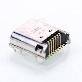 samsung galaxy Tab 3 T210 charging port with fitting while you wait see detail