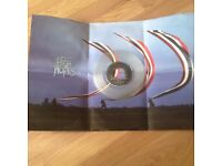 Vinyl Record 7 Inch Pink Floyd Special Edition With Poster