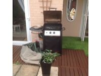 Gas BBQ 9 months old with gas bottle no faults ,we are downsizing .