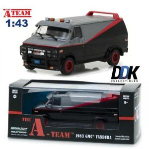 GREENLIGHT 86515 1983 GMC VANDURA THE A TEAM TV SHOW W/CASE DIACAST VAN 1:43