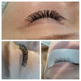 Individual semi permament eyelashes 1:1