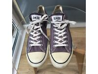 Light blue Converse All Stars in size 13
