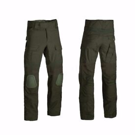 Invader Gear Predator Bdu Trousers Camo Knee Pads Airsoft Paintball