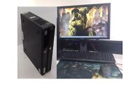FAST DESKTOP GAMING COMPUTER PC INTEL i3 2.93GHz 8GB RAM 500 GB DVDR