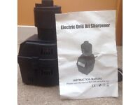 Electric drill bit sharpener.Brand new.with instruction manual.