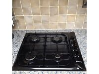 Hotpoint Gas Hob in black