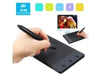 Huion H420 USB Art Design Graphics Drawing Tablet Digital Pen