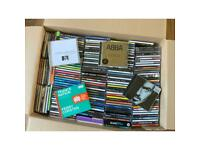 Box of CD's (( approx 150 ))
