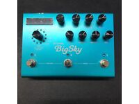 Strymon Big Sky Reverb As-New condition, boxed guitar pedal