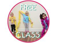 Toddler classes for boys and girls