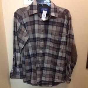Pendleton 100% Wool Fitted Trail Shirt (DPSB5X)