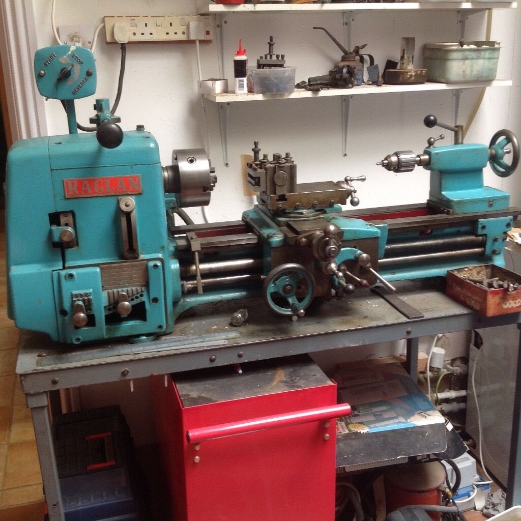 Raglan 5 Inch Metal Working Lath In Totnes Devon Gumtree Reversing A Lathe
