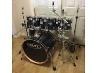 Fully Refurbished Mapex M Series Drum Kit Black Lacquer // Free Local Delivery