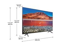 Samsung UE65TU7100 65 Smart 4K Ultra HD TV With HDR10+ and Crystal Processor 4K