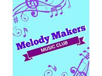 Melody Makers Music Club (FREE)