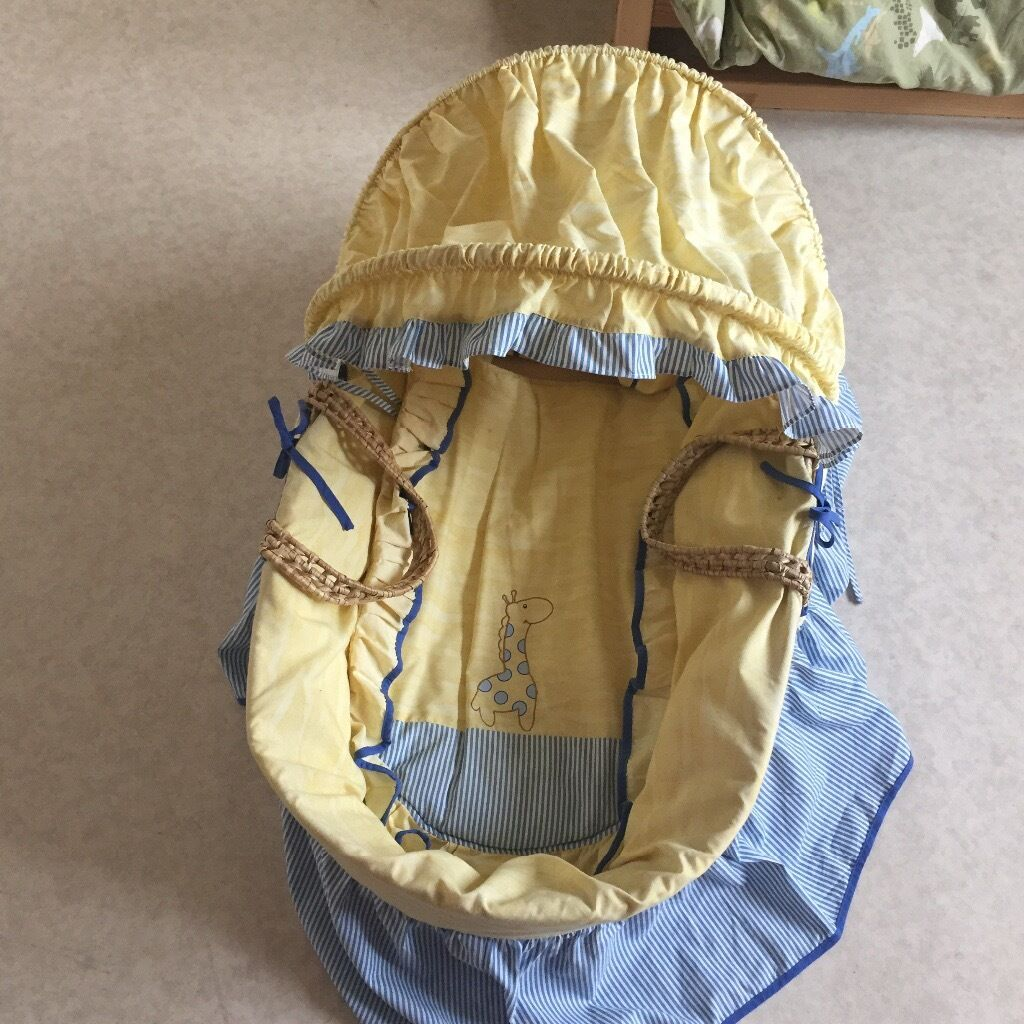Moses basket in a very good condition