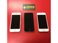 APPLE IPHONE 5S 16GB SIM FREE COMES WITH CHARGER AND 3 MONTHS WARRANTY FREE DELIVERY LOCALLY