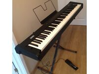 KORG SP-100 Digital Piano with Manuel and Wooden Case