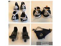 Build a bear workshop outfits shoes skates accessories hats bundle doctors kit