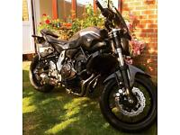 ◾️ 2015 Yamaha mt07, black widow exhaust, Crome pipes.. loads of extras!! Must see!