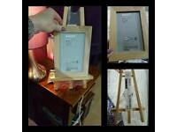 Ikea wooden easel style frame size 4x6 inch (NEW)