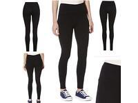 Brand new black leggings uk sizes 8-22