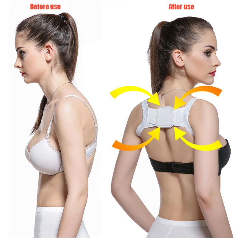Posture Corrector Device Comfortable Back Support Braces Sho
