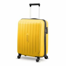 New Large Yellow Hardshell Suitcase 75cm Carlton Brand
