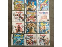 12 Nintendo DS Games