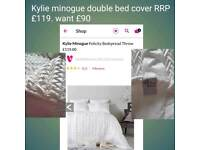 Kylie minogue bed spread double