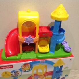 Little People Fisher Price Playground Toy with Box
