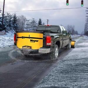 Brand New Meyer Salt Spreader - Meyer Mate Tailgate Spreader!