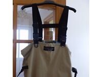 2 pairs of Vision Fly Fishing waders size L10