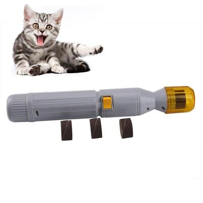 Paw Salon Nail Trimmer Grinder Grooming Tool Care Clipper For Pet Dog Cat