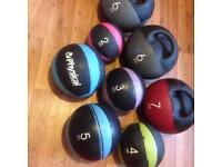Full set of physical company medicine balls