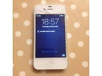 iPhone 4s 8GB (3 Mobile) - cracked screen