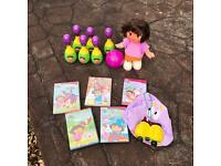 Dora the explorer toy selection perfect condition
