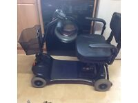 LIGHTWEIGHT STIRLING LITTLE STAR MOBILITY SCOOTER IN EXCELENT CONDITION WITH NEW BATTERIES FITTED