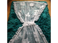 Door net lace curtains
