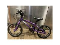 Frog 43 bike in purple - great condition