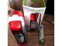 Soda Stream plus gas cylinder sealed and container bs11 bristol