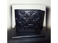 Louis vuitton monogram mens leather wallet